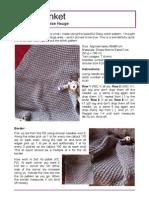 Baby Blanket in Daisy-Stich by M-L Hauge