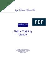 Sabre Training Manual