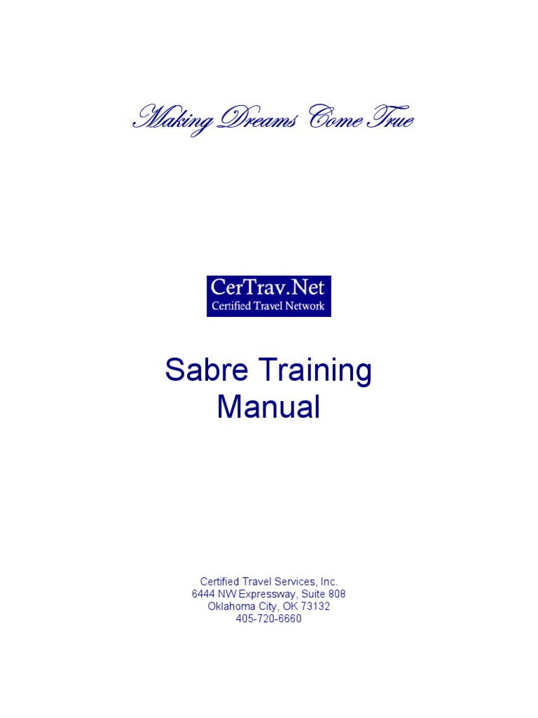 sabre training manual travel agency airlines rh scribd com sabre training manual pdf sabre travel network training manual