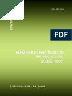 Elementos Estatisticos Saude 2007