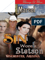 Zoey Marcel - [Winchester, Arizona 01] - Sin Wore a Stetson [Siren Menage & More] (Epub)