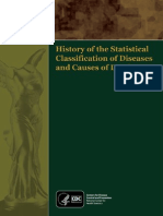 History of the Statistical Classification of Diseases and Causes of Death