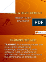 Training-Development Estupendo Manual Trainning en 60 Slides