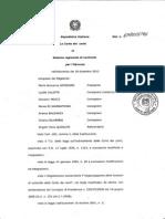 CORTE DEI CONTI SU BILANCIO REGIONE ABRUZZO