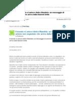 Gmail - [Nuovo Articolo] Il Mondo Si Unisce Dietro Mandela_ Un Messaggio Di Unione Non Segnalato Che Arriva Dalla Nazioni Unite