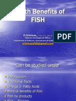 Health Benifits of Fish
