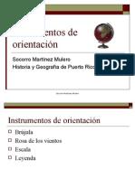 Instrumentos de orientación
