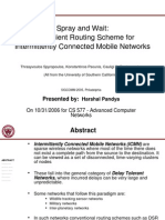 Spray Wait