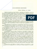 El Dios de Antonio Machado.