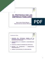 El Protocolo en Las Empresas Familiares