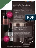 Grands vins de Bordeaux - millésime 2004