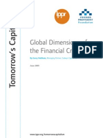 Global Dimensions of the Financial Crisis