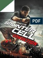 Tom Clancys Splinter Cell Conviction Manual