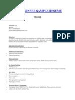 piping Designer sample CV
