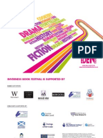 Inverness Book Festival 2009 - Brochure