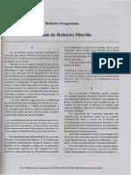 El Kant de Roberto Murillo
