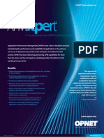 OPNET Application Performance Management