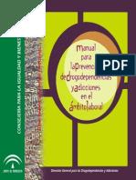 manual prevención drogodependencias ámbito laboral