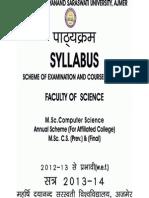 M.sc. Computer Science (Prev.) & (Final)