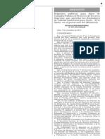 2012-11-09_Norma Aplicativa Nro. 307-2012- MINAM Publicar D. S. que aprueba Estandares de calidad ambiental del Suelo- ECA.pdf