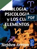 128200428 Astrologia Psicologia y Los Cuatro Elementos