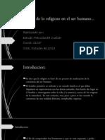 Origen de Lo Religioso en El Ser Humano II