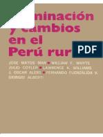 Dominación y cambio en el Perú rural