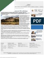 ANB _ Revierten la concesión petrolera de YPF en Ñirihuau - Diario online