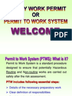 Safety Work Permit