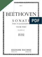 Beethoven - Sonate Per Pianoforte - Alfredo Casella  Vol. 1