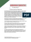 La Sabana Santa - P. Loring, S.J.