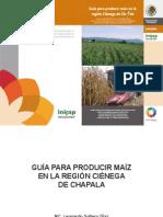 Guía para producir maíz en la región Ciénega de Chapala