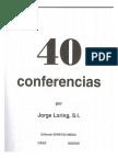 40 Conferencias - P. Loring, S.J.