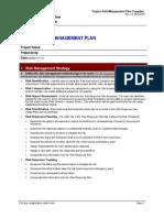 Project Risk Management Plan Template3333