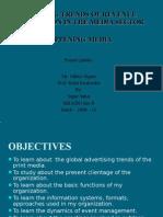 Evolving Trends of Revenue Generation in the Media