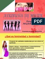 Atributos de Mujer