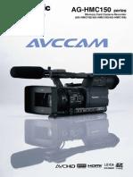 Panasonic Ag Hmc151eju