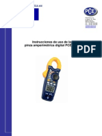 Manual Pinza Digital Dt 3341