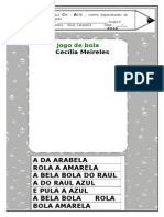 Montagem Do Texto Jogo de Bola