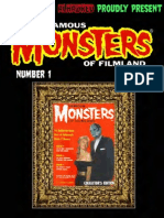 Famous Monsters of Filmland 001 1958 Warren Publishing