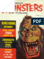 Famous Monsters of Filmland 006 1960 Warren Publishing