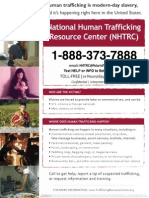 Human Trafficking Resource Center Flyer