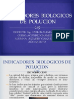 Indicadores Biologicos de Polucion 2