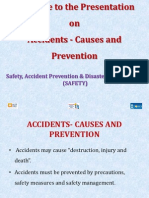 electrical Accidents- Causes and Prevention