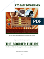 Marketing to Boomer Men by Brent Green