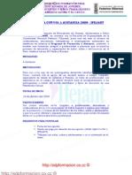 PROGRAMA CURSOS A DISTANCIA 2009 - IFEJANT