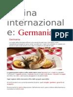 Cucina Internazionale Germania 28 Ricette