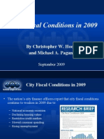 City Fiscal Conditions in 2009 Summary Powerpoint