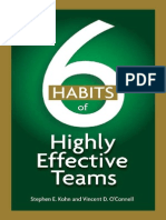 6 Habits of Highly Effective Teams