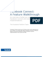 Facebook Connect for Web Startups Design Guide